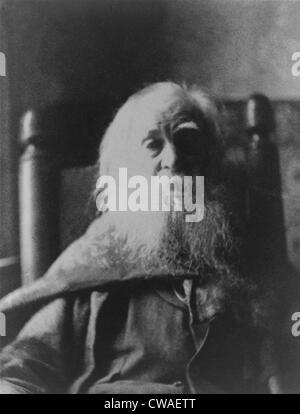 Walt Whitman (1819-1892) poète américain, en 1991, la dernière année de sa vie. Photo par le peintre américain, Banque D'Images