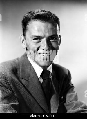 Chanteur et acteur Frank Sinatra, (1915-1998), 1958.. Avec la permission de la CSU: Archives / Everett Collection