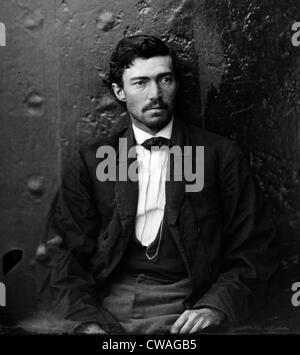 Samuel Arnold, un assassinat de Lincoln conspirateur en maniacals au Washington Navy Yard. Cette photo a été prise Banque D'Images