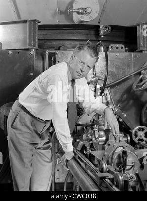 Ernest Orlando Lawrence (1901-1958), prix Nobel au Lawrence Berkeley National Laboratory en 1939.