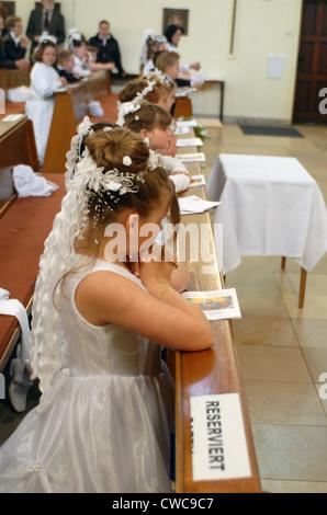 La communion à Duisburg Banque D'Images