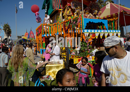 Chars festival Hare Krishna Venice Beach