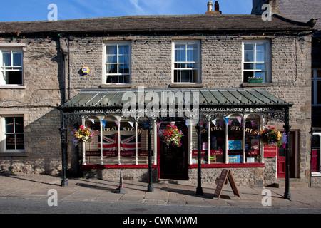 Village de Middleham Store, North Yorkshire Dales, près de Leyburn, Richmondshire, UK Banque D'Images