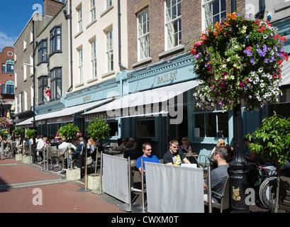 Le Bar Bailey, Duke Street, Dublin, Irlande Banque D'Images