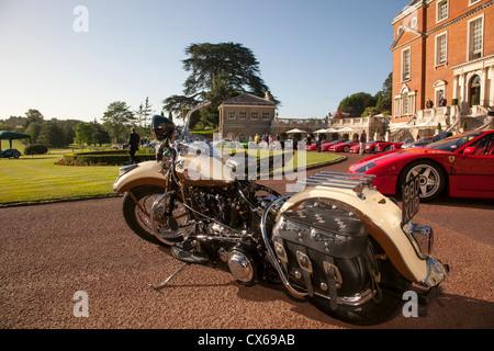 Royal Automobile Club Woodcote Park Prive Salon d'. Banque D'Images