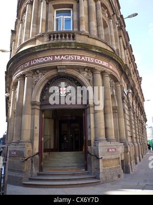 Ville de London Magistrates Court Banque D'Images