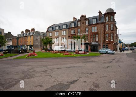 L'Hôtel Royal Campbeltown sur la péninsule de Kintyre Argyll and Bute, Ecosse Banque D'Images