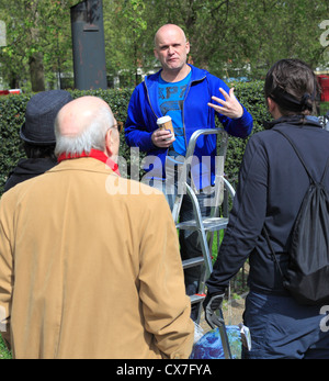 Speakers' Corner à Hyde Park, Londres, UK