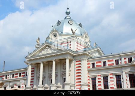 Bucarest, capitale de la Roumanie. L'Hôpital Coltea célèbre bâtiment. Banque D'Images