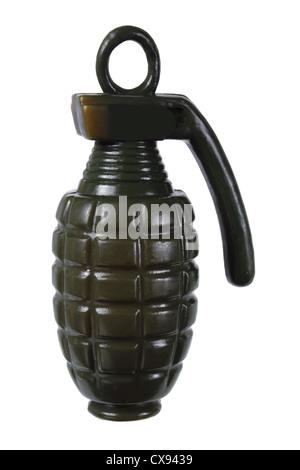 Grenade à main jouets Banque D'Images