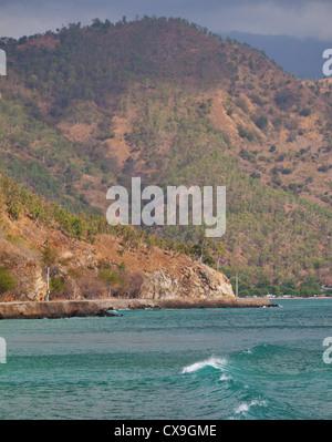 L'autre rive et de Dili, au Timor oriental