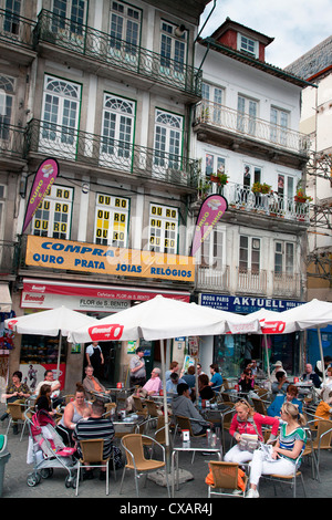 Restaurant en centre-ville, Porto (Porto), Portugal, Europe Banque D'Images