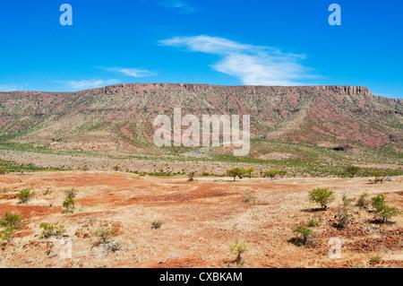 La région de Kunene, Damaraland, Namibie, Afrique