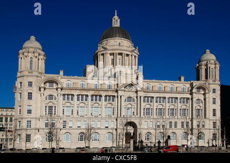 Dock Company Building, Pierhead, UNESCO World Heritage Site, Liverpool, Merseyside, Angleterre, Royaume-Uni, Europe Banque D'Images