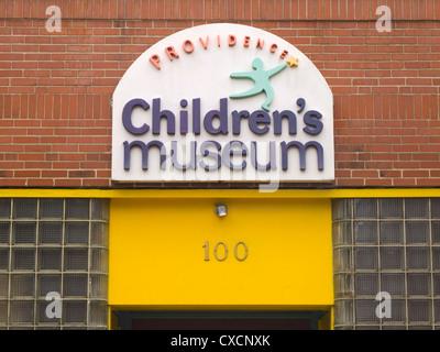 Musée des enfants de Providence dans le Rhode Island Banque D'Images