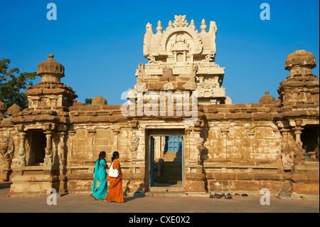 Temple Kailasanatha datant de 8ème siècle, Kanchipuram, Tamil Nadu, Inde, Asie