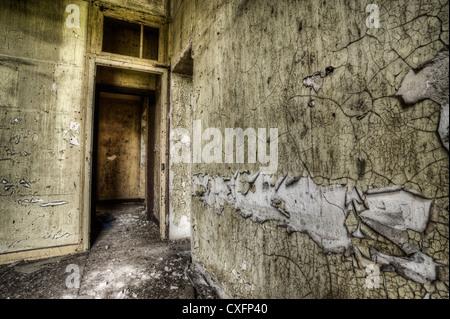 Abandoned house interior