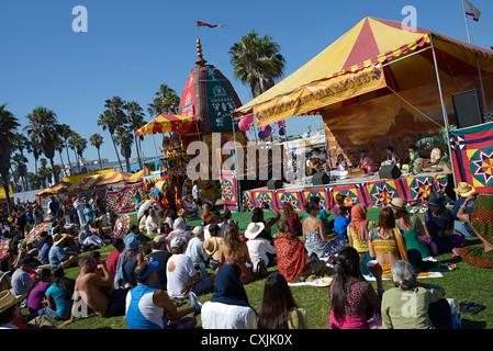 Chars Hare Krishna Beach Californie venise festival