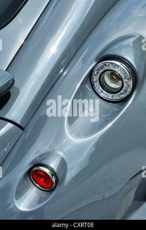 Wiesmann GT, voiture de sport, la vue de détail, feux arrière, Munich, Bavaria, Germany, Europe