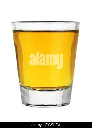 Verre de whisky plein