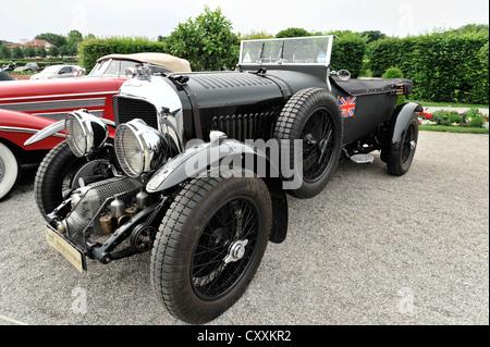 Bentley Van den Plas 4,5 litre, soufflante, construit en 1927, vintage, voiture Retro Classics 2012, Ludwigsburg Banque D'Images