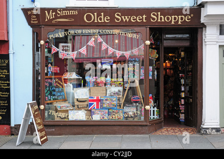 Old fashioned Sweet Shop, Chichester Banque D'Images