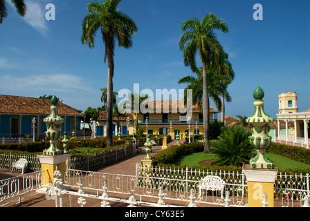 Trinité Plaza Mayor Banque D'Images
