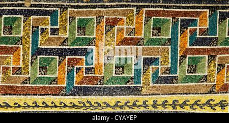 Mosaïque byzantine dans la région de Ravenna (Italie) Banque D'Images