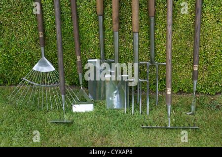 Outils de jardin. Banque D'Images