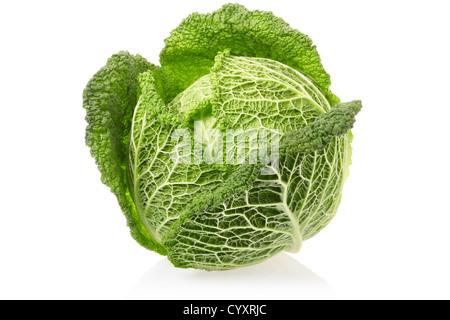 Chou vert Banque D'Images