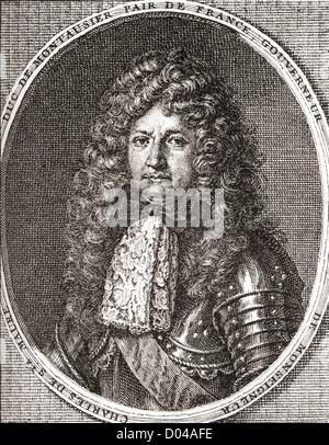 Charles de Sainte-Maure, duc de Montausier, 1610 - 1690. Soldat français et le gouverneur du dauphin, Louis le Grand Banque D'Images