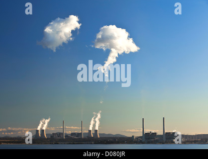 Liddell Power Station, Hunter Valley Australie Nouvelle Galles du Sud