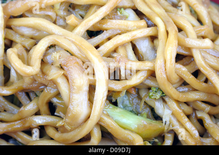 Lo mein Chinese food Banque D'Images