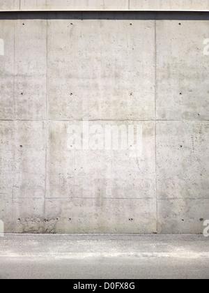 Mur en béton, la texture d'arrière-plan