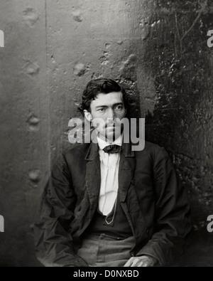 Samuel Arnold, conspirateur Lincoln Banque D'Images