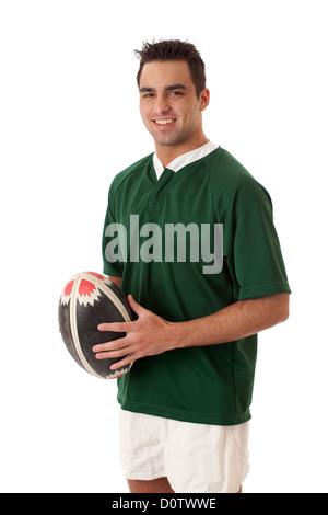 Joueur de rugby à XV Banque D'Images