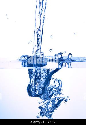 éclaboussure de l'eau Banque D'Images
