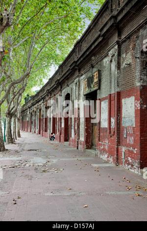 La dégradation du milieu urbain dans la région de Palermo, Buenos Aires Banque D'Images