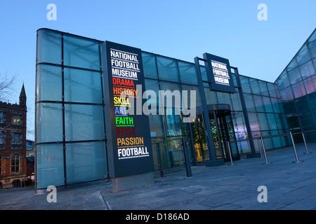 Musée National du Football dans l'Urbis à Manchester City Centre Banque D'Images