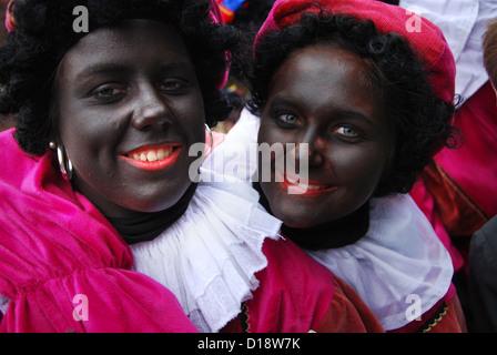 Célébration Sinterklaas Europe Pays-Bas Banque D'Images
