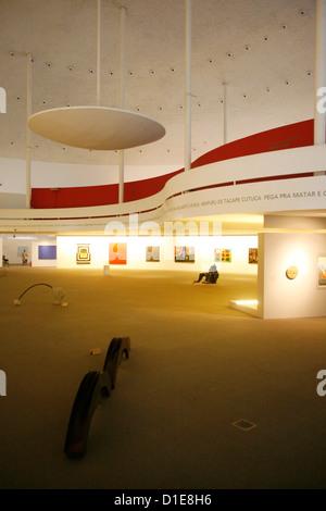 Musée National (Musée National) conçu par Oscar Niemeyer, Brasilia, UNESCO World Heritage Site, Brésil, Amérique Banque D'Images