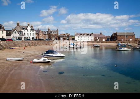 L'Administration portuaire de Stonehaven, Aberdeenshire, Ecosse, Royaume-Uni, Europe Banque D'Images