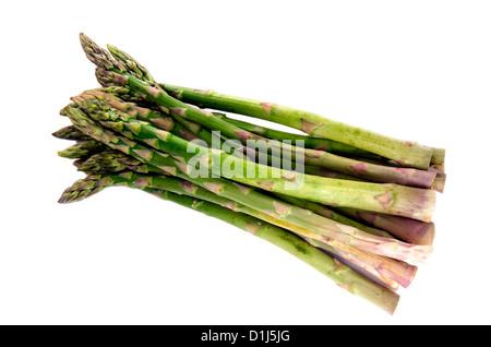 Les asperges vertes fraîches Banque D'Images