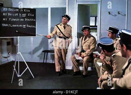 Der Gendarm Vom Broadway un gendarme à New York, le Louis de Funes, Michel Galabru, Jean Lefebvre *** *** Légende Banque D'Images