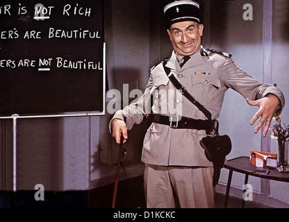Der Gendarm Vom Broadway un gendarme à New York, le Louis de Funés *** *** Légende Locale 1966 -- Banque D'Images