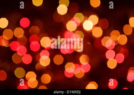 Voyants de couleur motif abstrait Banque D'Images