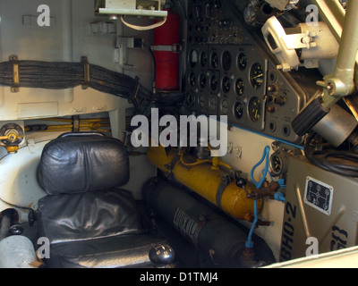 Aalden War Museum....ZSU-23-4V1 Shilka (1972) Driverseat