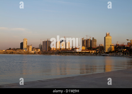 Aperçu de Luanda, Angola Banque D'Images