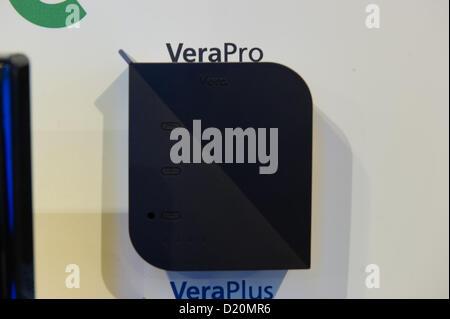 Las Vegas, États-Unis - 2013-01-08. Mi Casa Verde prototype du VeraPro affichage dévoilera au CES (Consumer Electronics Banque D'Images