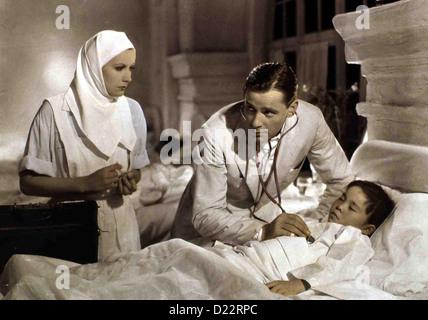Der Bunte Schleier Painted Veil, Greta Garbo, Herbert Marshall Als Walter (Herbert Marshall,m) von der Affäre senneur Frau